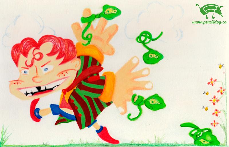 niño_y_gusanos